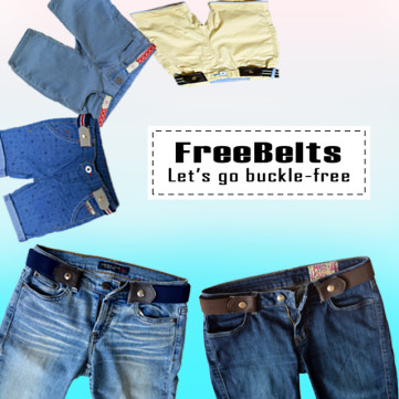 FreeBelts - Let's go buckle-free.