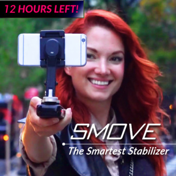 SMOVE: Smartphone Stabilizer & PowerBank in One