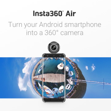 Insta360 Air 360 VR Clip On Camera for Smartphone