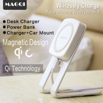 MAGQI: Wirelessly Charge Your Phone Everywhere