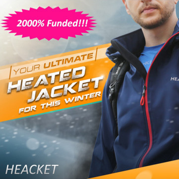 Heacket: The World's Most Durable Heated Jacket
