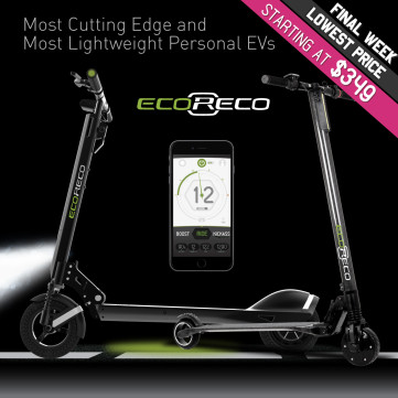 EcoReco Model R & XS: Ultimate Personal EV for All