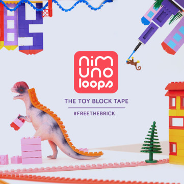 Nimuno Loops - The Toy Block Tape