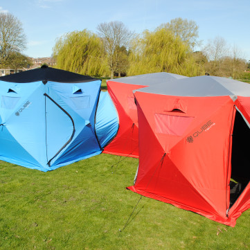 Qube Tents - Connectable Quick Pitch Tents