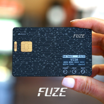 Fuze Card: Your Whole Wallet in One Card
