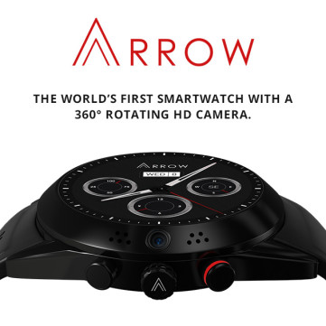 Arrow - Smartwatch with 360 Rotating HD Camera.