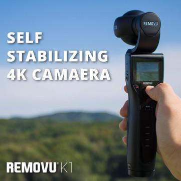 REMOVU K1: Self-Stabilizing 4K Camera