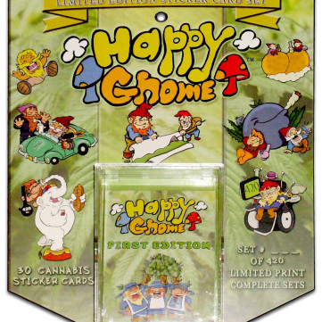 Happy Gnome 420 Cannabis Scented Sticker Card Sets