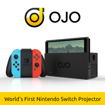 OJO - World's First Nintendo Switch Projector