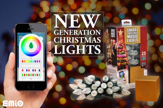 smart christmas music lights indiegogo