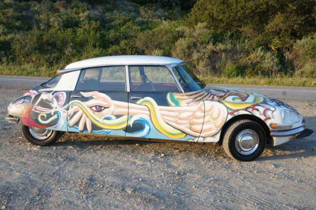 Citroedelic ~ David Normal's Citroen Art Car