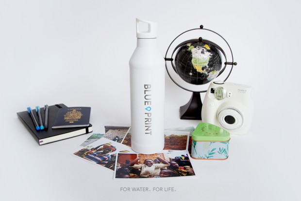 The blueprint bottle drink water give water indiegogo malvernweather Images