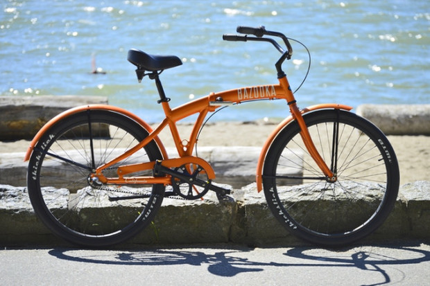 Cruiser Bike with Belt drive that fits in your car