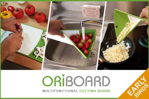 Oriboard : the origami multifunction cutting board