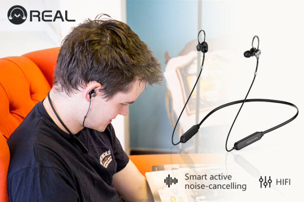 REAL: Smart Bluetooth ANC HIFI Sports Earphones
