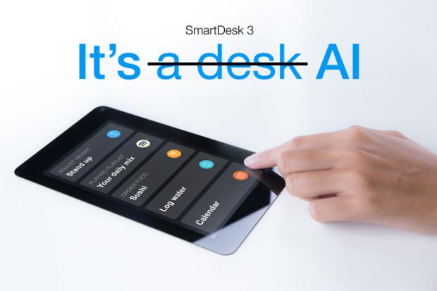 SmartDesk 3: AI-Powered Standing Desk