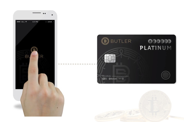 BUTLER Platinum for Cryptocurreny Founder Edition