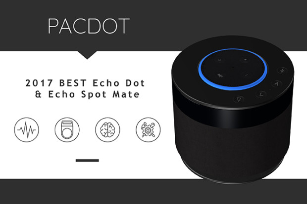 PACDOT:Best Bluetooth Speaker Compatible with Echo