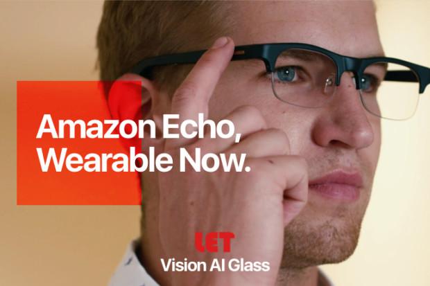 LET AI Glasses with Alexa & Bone Conduction Audio