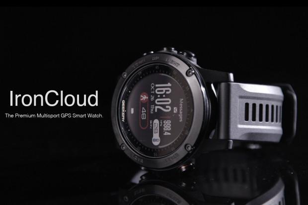 IRONCLOUD - Premium Multi-sport GPS Smart Watch