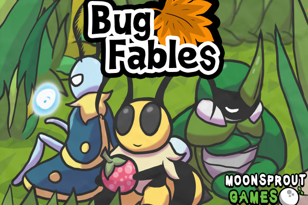 https://bug-fables.backerkit.com/hosted_preorders. Release date: Q2 2019.  Bug Fables is an Adventure RPG following Bee, Beetle, ...