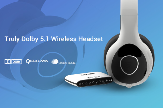 Virtual Acoustic: Truly Dolby 5.1 Wireless Headset