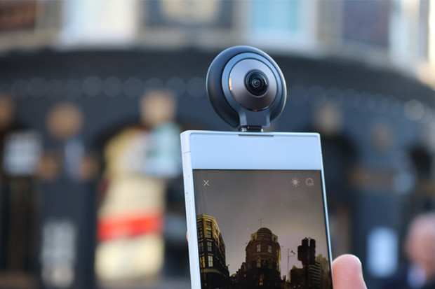 LyfieEye200 - World's First 360 VR AR Camera