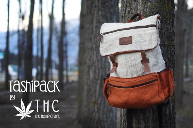 TashiPack by THC - Pure Hemp Backpack