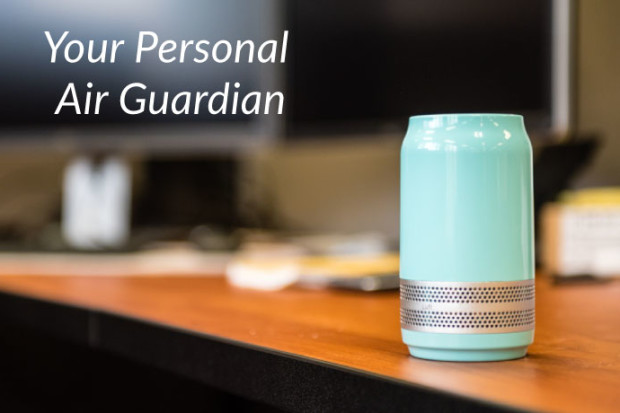 Luft Qi - The Smallest, Filterless Air Purifier