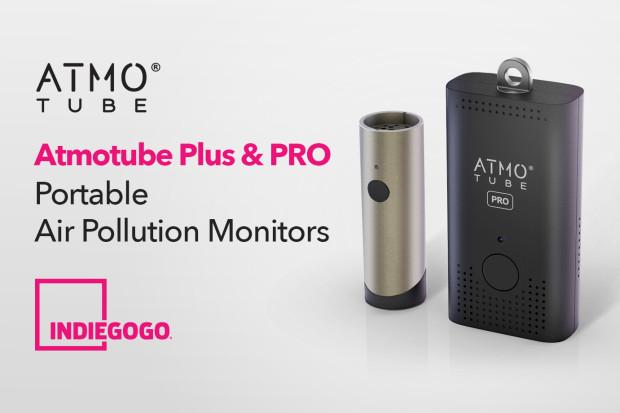 Atmotube Plus&Pro: Portable Air Pollution Monitors