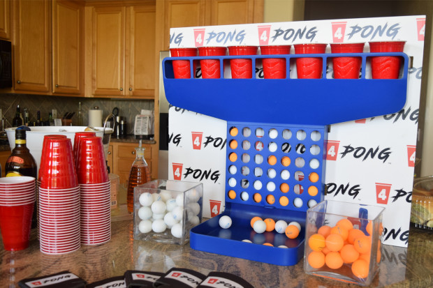 4Pong: A Fusion of Beer Pong and a 4-In-A-Row Game