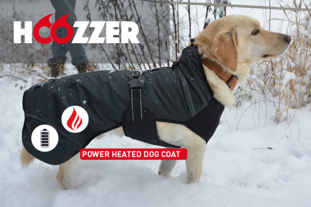 MOYAVE HOOZZER - Ultimate Power-Heated Dog Coat