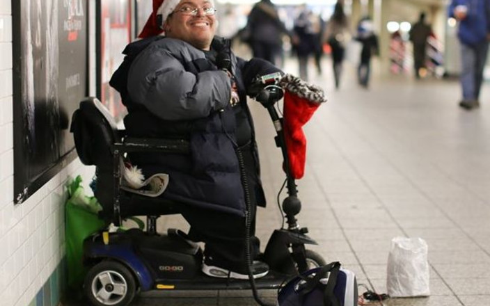 Help this Humans of New York Homeless Disabled Man