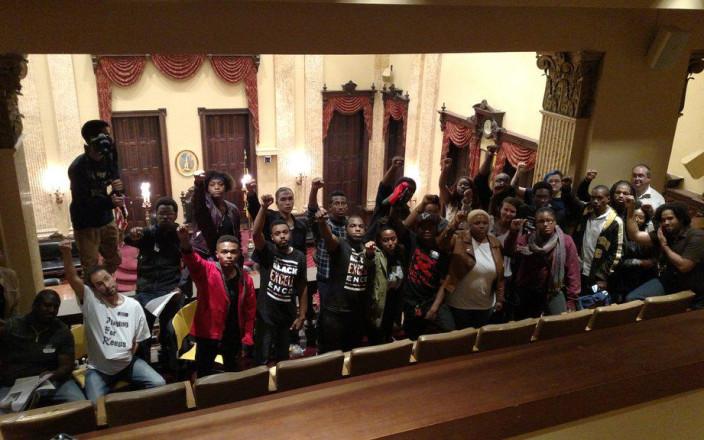 Baltimore United Fund 4 #CityHallShutDown Youth