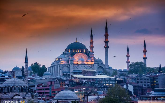 Douglas & Kirsten in Istanbul, the Queen of Cities