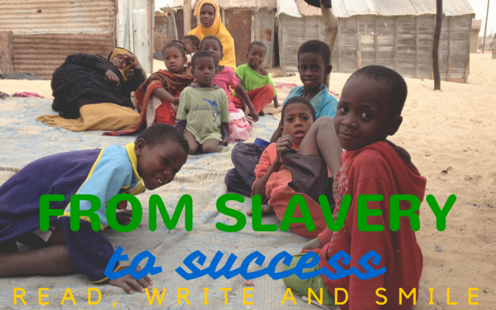 From Slavery to Success! Read, Write and Smile