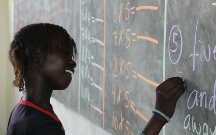 Educate a girl child in South Sudan