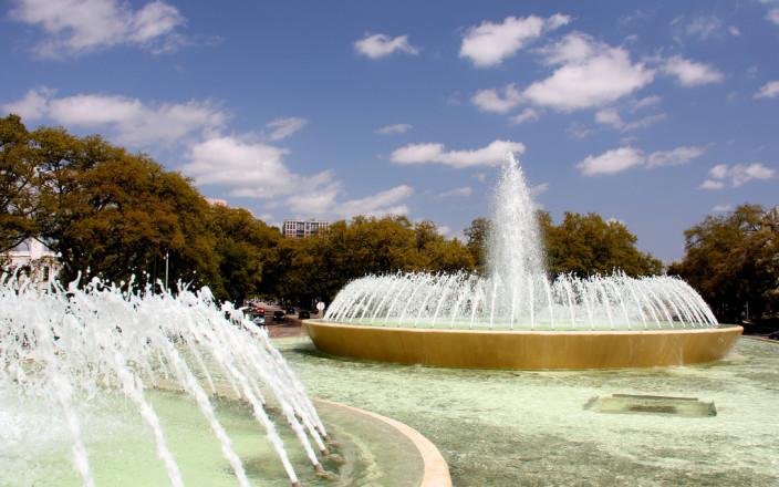 Mecom Fountain Restoration