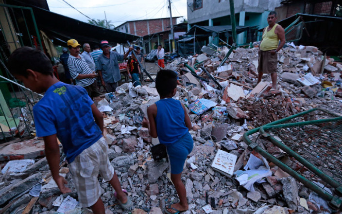 ECUADOR Earthquake Emergency Relief