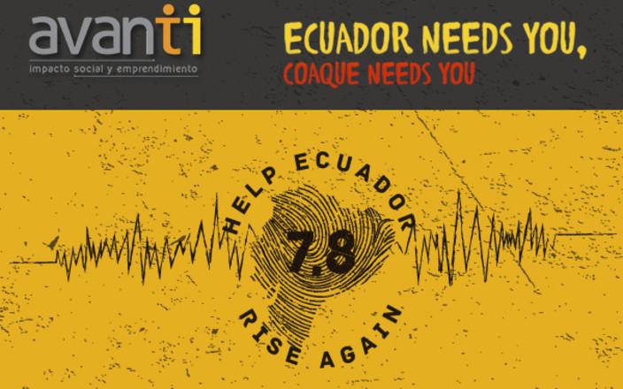 Help Ecuador Rise Again - Ecuador te necesita