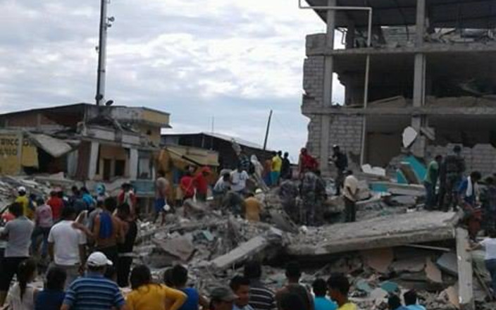 ECUADORIAN EARTHQUAKE RELIEF