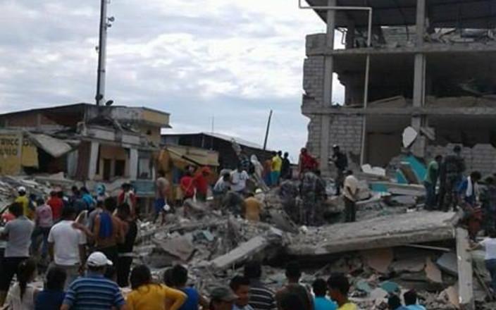 ECUADORIAN EARTHQUAKE RELIEF