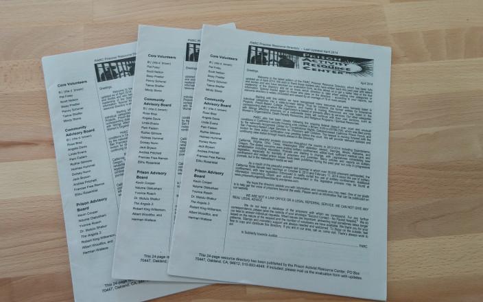 PARC 2016 Prisoner Resource Directory
