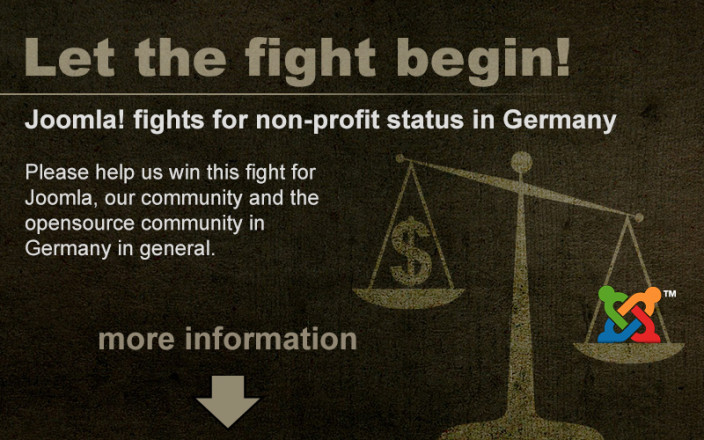 Joomla! fights for non-profit status in Germany