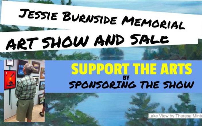 2016 Jessie Burnside Memorial Art Show and Sale