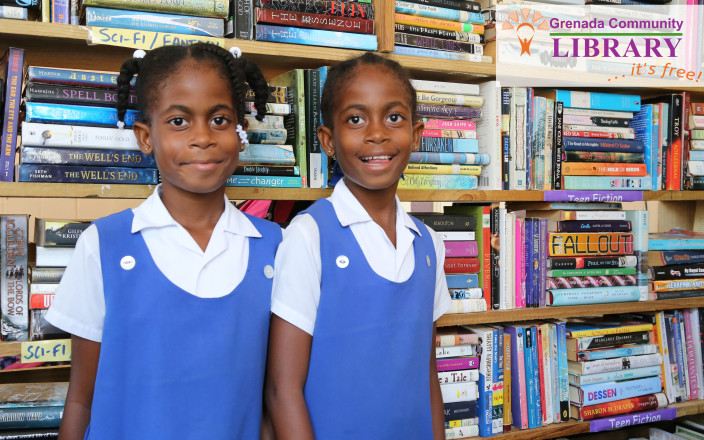 Grenada Community Library Funded by the People