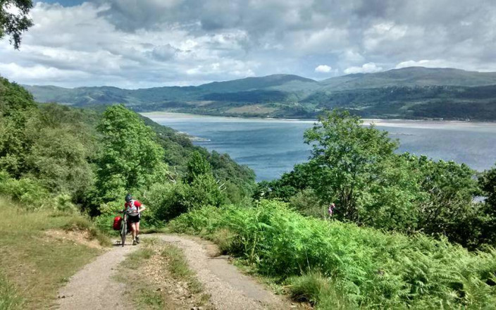 Lesley's Scottish Cycle for Days for Girls