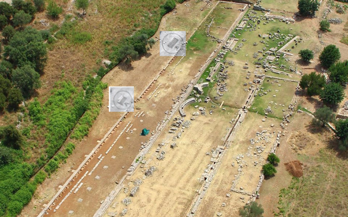 Excavations in Thermon Aetolia Greece