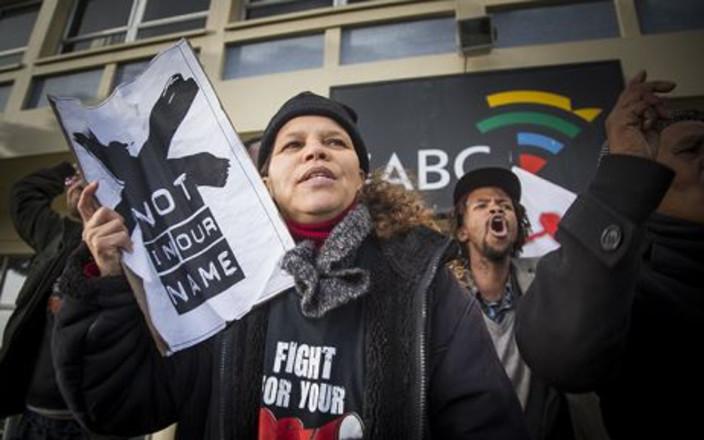 Friends of SABC journalists