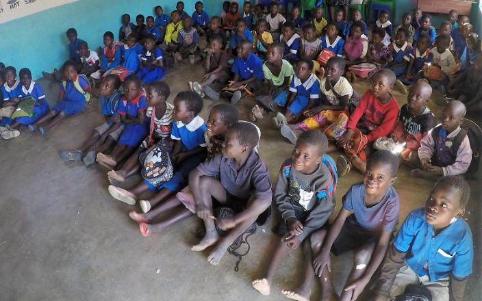 School books for Malawian children